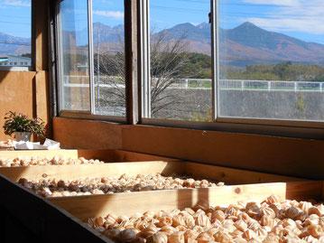 調整所から見る八ケ岳