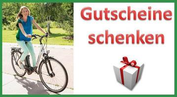 Geschenkidee für e-Bike Liebhaber: Verschenken Sie einen e-Bike Gutschein