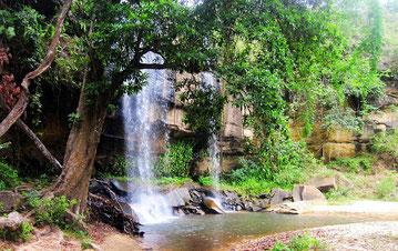 Cascate Sheldrick. Riserva Nazionale Shimba Hills