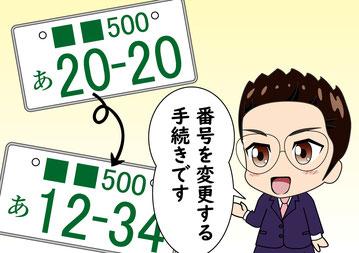 自動車_番号変更_熊本_石原大輔行政書士事務所
