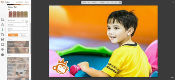 Picmonkey is fully featured with photo editing tools and more