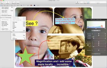 Preview from Mac OS X has a lot of surprising tools like the text