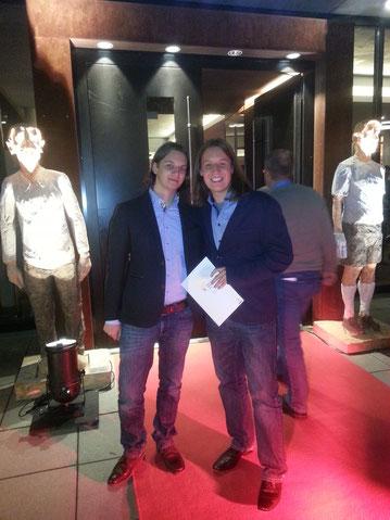 Maik Styrnol, Pirmin Styrnol, Fußballkultur, Preis, Hörspiel, Hörspiel des Jahres, roter Teppich