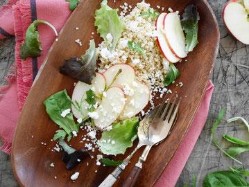 Hirsesalat / Apfel / Feta