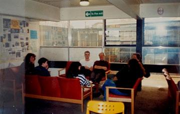 Cantina en Quick Silver Place, 1992.