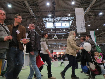 Los geht`s!: Leipziger Buchmesse 2015! / Foto: CVB