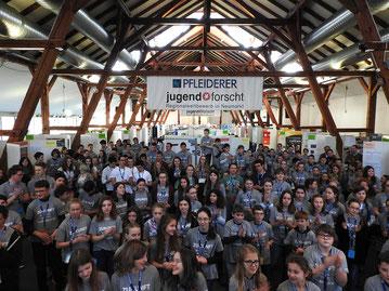 169 Jungforscher beim 22. Regionalwettbewerb Oberpfalz begrüßt