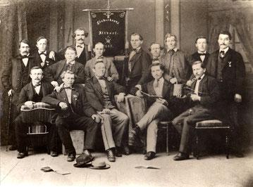 1862: Die erste Fahnenweihe