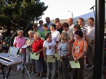 1. Auftritt Sommerfest 2004 (Bild: Archiv SV)
