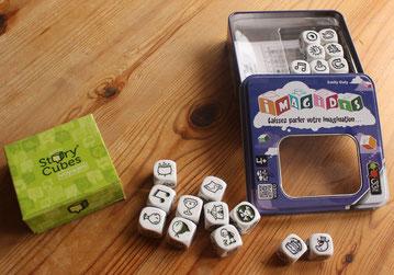 Story cubes, imagidés