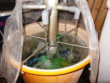 催芽器 有機栽培の米作り