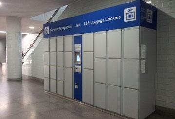 Камеры хранения багажа в Барселоне
