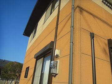 熊本市M様家の西面外壁塗装前