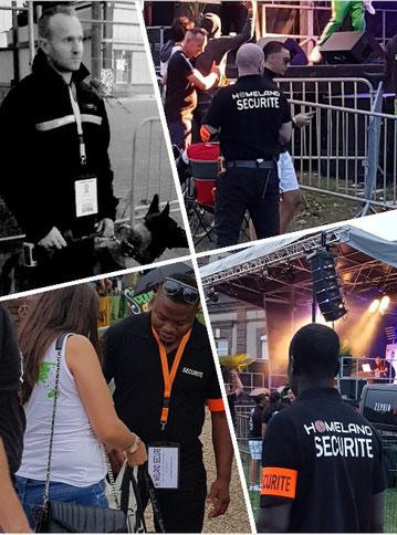homeland secure agence agent de securite surveillance alarme videosurveillance evenement festival