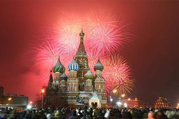 Moscow-Christmas in the Red Square
