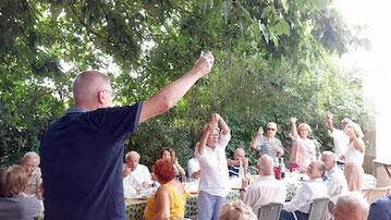 Marche et repas de rentrée de l'ANOCR 34-12-48 le 7 septembre 2021 anocr34.fr