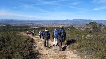 randonnée de Saint-Bauzille-de-la-Sylve le 26 janvier 2021 anocr34.fr