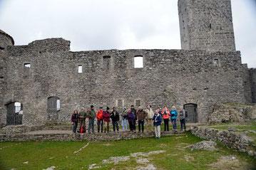 Photo de groupe des randonneurs du 14 janvier 2020 - anocr34.fr
