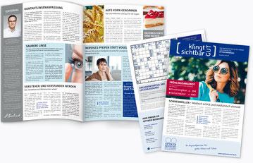 Das Kundenmagazin für Optik & Akustik
