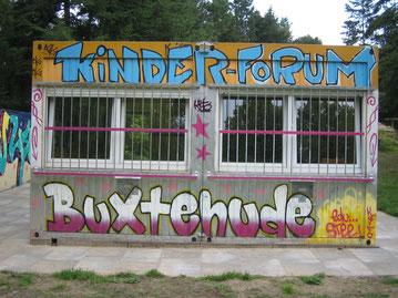 Noch immer geschlossen: Das Kinderforum in der Sagekuhle - offene Jugendarbeit ist noch nicht wieder möglich. Foto: SJR