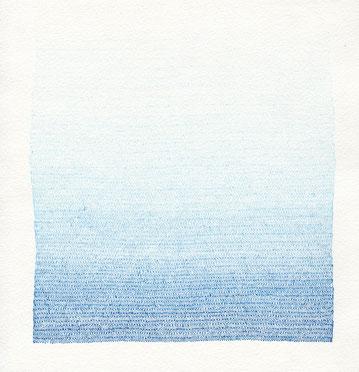 Ohne Titel, 2011, Tusche auf Büttenpapier, 22,5 × 22 cm