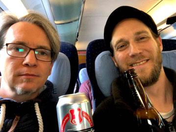 Unterschied & Macher | Michael und Markus auf dem Weg zur FrontendUnited nach Utrecht