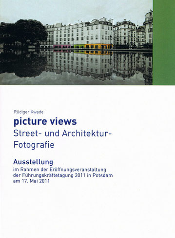 Ausstellung: picture views III in Potsdam Foto Rüdiger Kwade