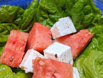 feta & watermelon