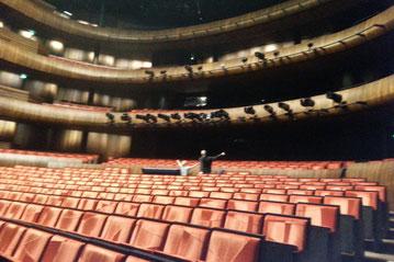 Besuch bei einem deutschen Sänger in der Oper Oslo