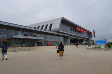 Der neue Bahnhof von Nairobi