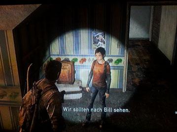 Ellie redet mit Joel über Tess