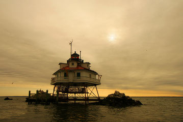 Lighthouse an der Chesapeake-Bay