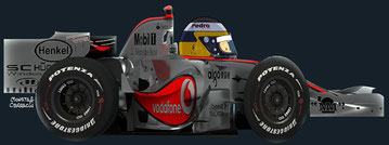 Pedro de la Rosa by Muneta & Cerracín - MP4-22  McLaren