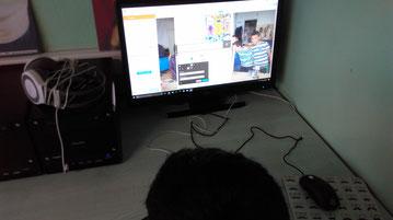 Enfants devoirs accompagnement