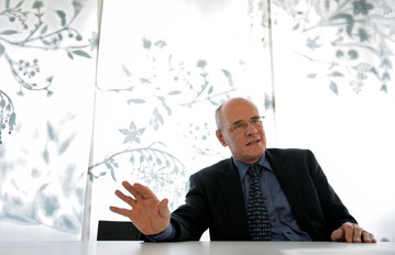 """Markus Moser: """"Wir hatten die Vorstellung, die Krankenkassen würden den Wettbewerb über den Service führen""""."""