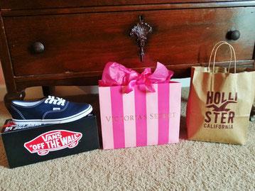 Ergebnisse meiner Shoppingtour