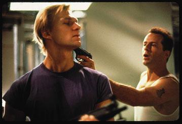 ©Andreas mit Bruce Willis am Set von Die Hard