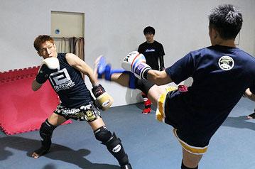 キックボクシング テクニッククラス