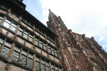 Lichtsturm-Location: Straßburger Münster