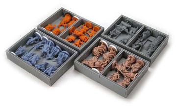 folded space insert organizer rising sun daimyo box foamcore