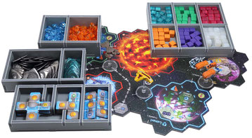 folded space insert organizer xia legends of a drift system foam core