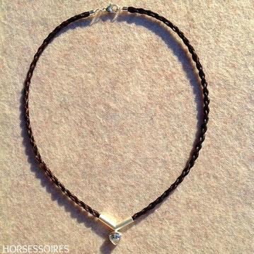 Schmuck aus Pferdehaar - Halskette von Horsessoires
