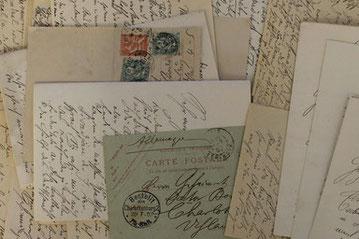 Briefe Wilhelm Vöges (1868–1952) an Wilhelm von Bode. Foto: Sven Pabstmann