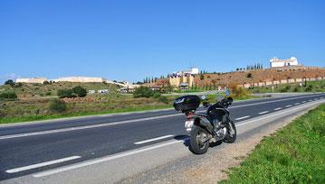Kurz vor der Grenze nach Spanien