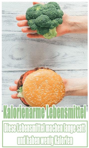 Kalorienarmes Lebensmittel.
