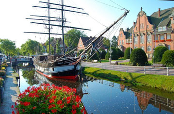 """Museumsschiff Brigg """"Friederike von Papenburg"""""""