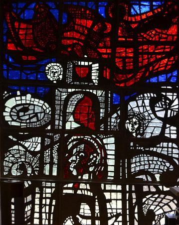 Kirchenfenster in St. Januarius