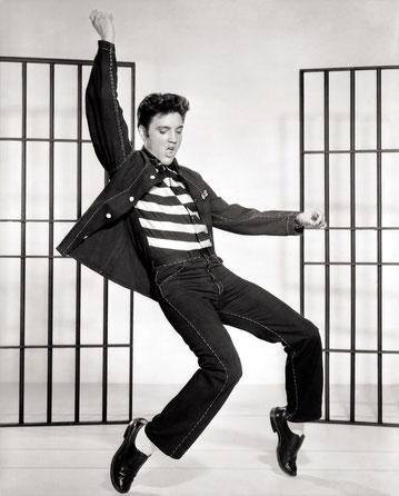 Elvis Presley, Noeud Nord Verseau en maison II.
