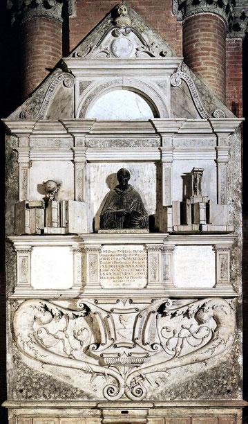 Monumento a Trombetta, sito nella Basilica di Sant'Antonio da Padova