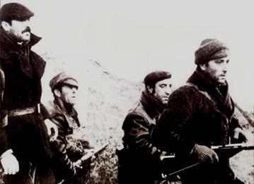 Anarkistiske partisaner i Spanien i 1940'erne